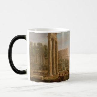 Claude Lorrain - Ruins of the Roman forum Magic Mug