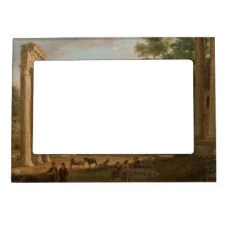Claude Lorrain - Ruins of the Roman forum Magnetic Photo Frame