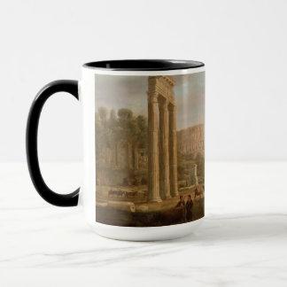 Claude Lorrain - Ruins of the Roman forum Mug