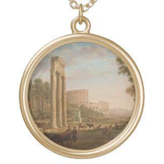 Claude Lorrain - Ruins of the Roman forum Jewelry