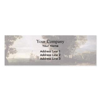 Claude Lorrain- The Rape of Europa Business Card Templates
