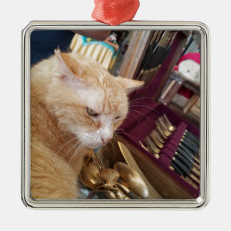 Claude Metal Ornament
