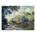 Claude Monet 3 Póster