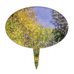 Claude Monet A Bend Of The Epte Cake Topper