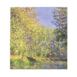 Claude Monet A Bend Of The Epte Notepads