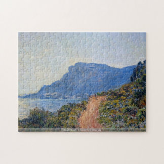 Claude Monet - A coastal view with a bay puzzle