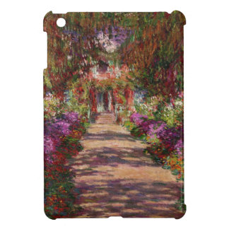 Claude Monet | A Pathway in Monet's Garden Cover For The iPad Mini