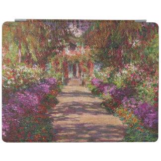 Claude Monet | A Pathway in Monet's Garden iPad Smart Cover