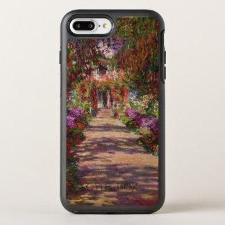 Claude Monet | A Pathway in Monet's Garden OtterBox Symmetry iPhone 8 Plus/7 Plus Case