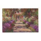 Claude Monet   A Pathway in Monet's Garden Placemat