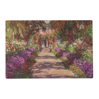 Claude Monet | A Pathway in Monet's Garden Placemat