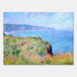 Claude Monet: Acantilado cerca de Pourville