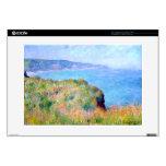Claude Monet: Acantilado cerca de Pourville Portátil Calcomanía