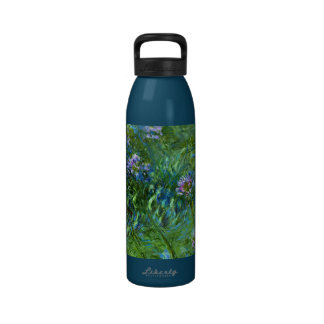 Claude Monet: Agapanthus Botella De Beber
