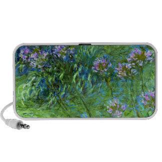 Claude Monet: Agapanthus Mini Altavoces