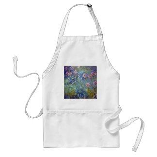 Claude Monet Agapanthus Apron