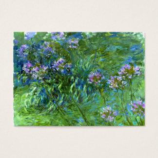 Claude Monet: Agapanthus Business Card