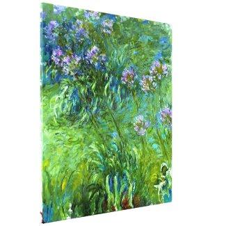 Claude Monet: Agapanthus Canvas Print