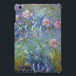 """Claude Monet Agapanthus Cover For The iPad Mini<br><div class=""""desc"""">Claude Monet Agapanthus</div>"""