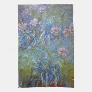 Claude Monet Agapanthus Hand Towel