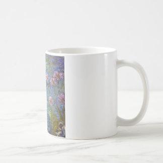 Claude Monet Agapanthus Classic White Coffee Mug