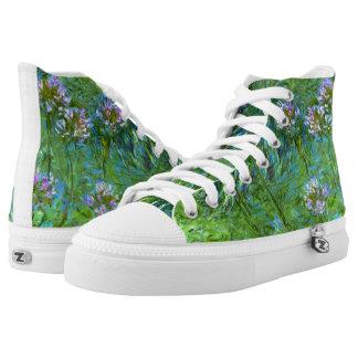 Claude Monet: Agapanthus Printed Shoes