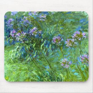 Claude Monet: Agapanthus Tapete De Ratones