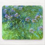 Claude Monet: Agapanthus Tapetes De Raton