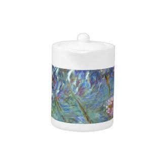 Claude Monet Agapanthus Teapot