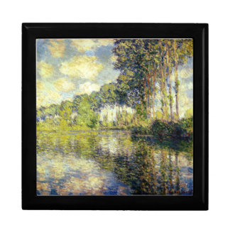 Claude Monet - álamos en el Epte Cajas De Recuerdo