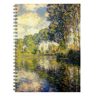 Claude Monet - álamos en el Epte Cuadernos