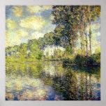 Claude Monet - álamos en el Epte Impresiones