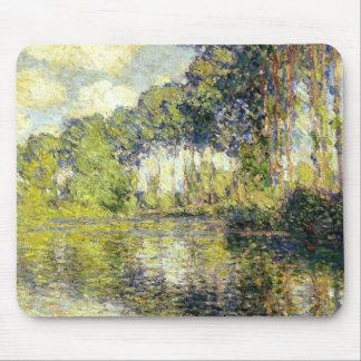 Claude Monet - álamos en el Epte Mousepads