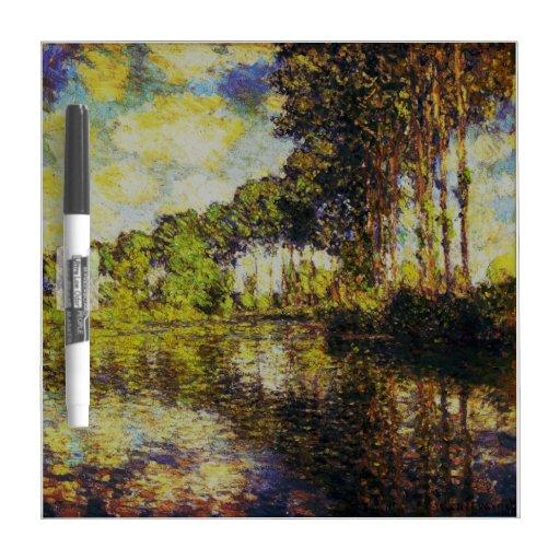 Claude Monet - álamos en el Epte Pizarras