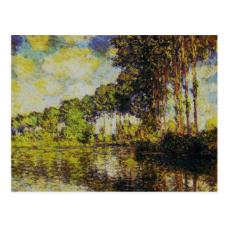 Claude Monet - álamos en el Epte Postales