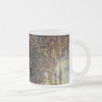Claude Monet - álamos en el Epte Taza De Cristal