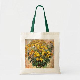 Claude Monet: Alcachofas de Jerusalén Bolsa Tela Barata