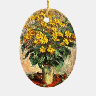 Claude Monet Alcachofas de Jerusalén Adornos