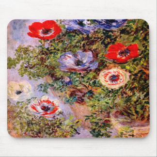 Claude Monet: Anémonas Tapete De Ratón
