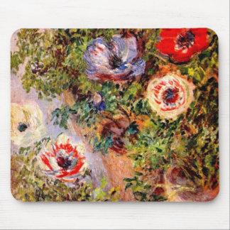 Claude Monet  Anemonen Mouse Pad