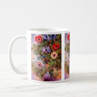 Claude Monet: Anemones
