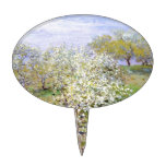 Claude Monet Apple Tree Cake Toppers