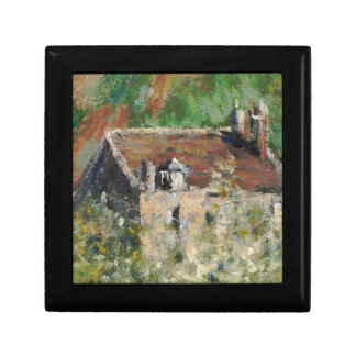 Claude Monet - árboles de ciruelo florecientes Caja De Joyas