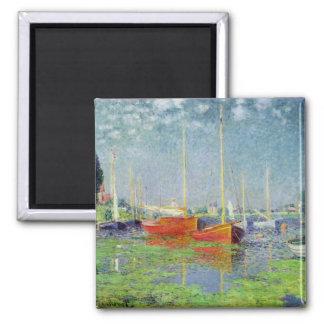 Claude Monet   Argenteuil, c.1872-5 2 Inch Square Magnet