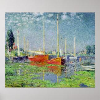Claude Monet | Argenteuil, c.1872-5 Poster