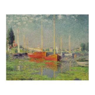 Claude Monet | Argenteuil, c.1872-5 Wood Print