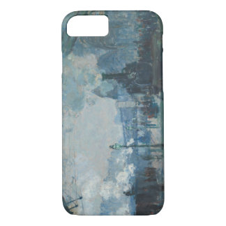 Claude Monet - Arrival of the Normandy Train iPhone 8/7 Case