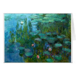 Claude Monet Artist Painter Destiny Gifts Greeting Card