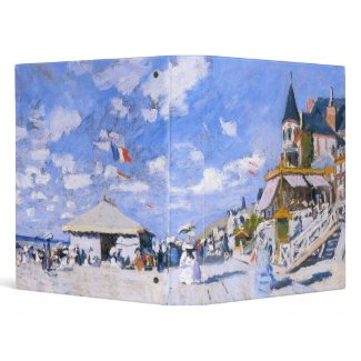 Claude Monet: At the Beach of Trouville