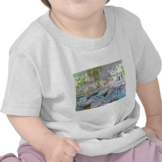 Claude Monet - bañistas en el La Grenouillère Camisetas